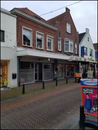 Steenbergen, Blauwstraat 70-72 en Kleine Kerkstraat 1a en 1b